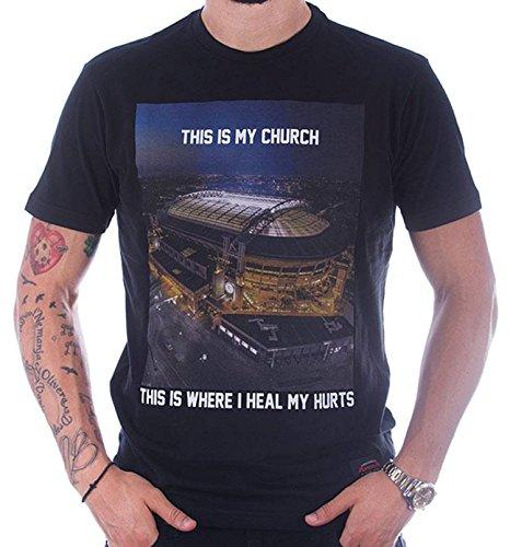 Copa Amsterdam Arena Stadion T-Shirt Schwarz