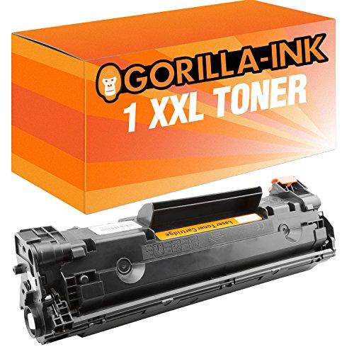 Preisvergleich Produktbild Gorilla-Ink® 1 Toner-Patrone XXL Schwarz kompatibel für HP CE278A LaserJet P 1602 1603 1604 1605 1606 N 1606 DN 1607 DN 1608 DN 1609 DN