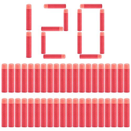 LDB SHOP 120 Stück Darts Pfeile für Nerf Mega Blaster Series