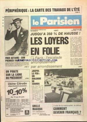 PARISIEN (LE) [No 13304] du 23/06/1987