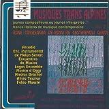 Musica transalpina vol.2 Parergon (1981) per quartetto di flauti Nuda d'Alba Tu che tra i verdi rami Appunti dal nero