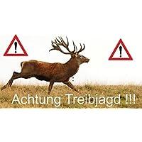 Banner Treibjagd ciervo
