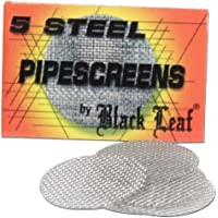 Black Leaf 100Acero cribas D 20mm (20x 5Libritos) Silbato Plantilla Tamiz Tamiz