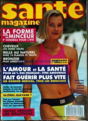 SANTE MAGAZINE [No 164] - LA FORME AVEC ...