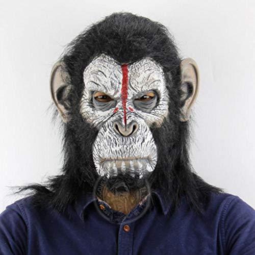 Halloween Caesar Kostüm - Krieg für den Planeten der Affen Cosplay Kostüme Caesar Latex Maske Gorilla Masken Halloween Fancy Ball Requisiten