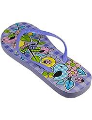 Immerschön Flip-Flops mit tollen Motiven in vielen Farben Badelatschen Schlappen Zehentrenner