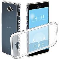 Funda Sony Xperia M2 HAPPON [Ultra Slim] Estuche protector Estuche parachoques con excelente amortiguación y antirrayas Estuche para Sony Xperia M2 (Trasparente)