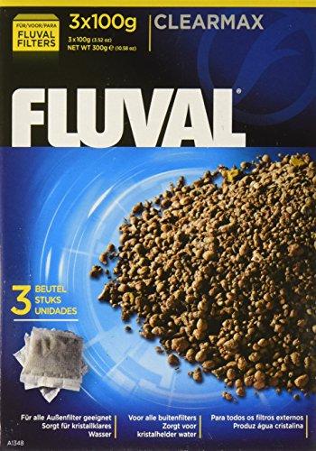 Fluval Filtermedium Clearmax 3er Pach adsorbiert Phosphat, Nitrit und Nitrat