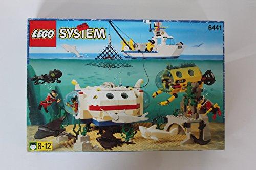 LEGO System Tauchen 6441 Unterwasser Forschungs-Station Weiße Unterwasser System