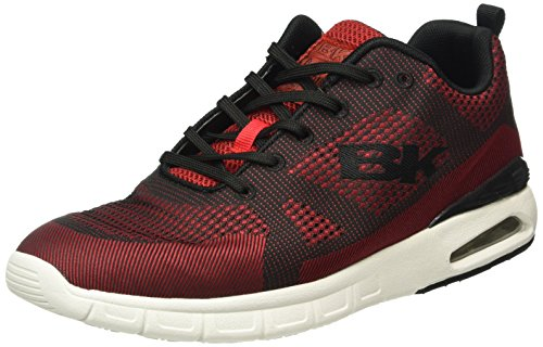 British Knights Energy, Baskets Basses Homme Rouge - Rot (Dk Red - Blk 01)