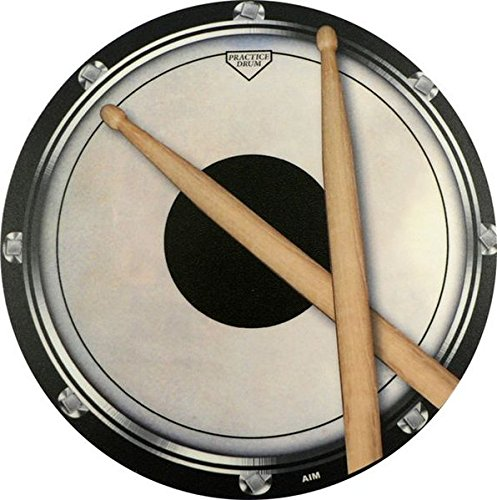 Price comparison product image Mouse Mat Drum Practise Pad Sticks