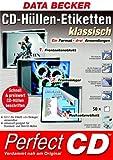 CD-Hüllen-Etiketten klassisch