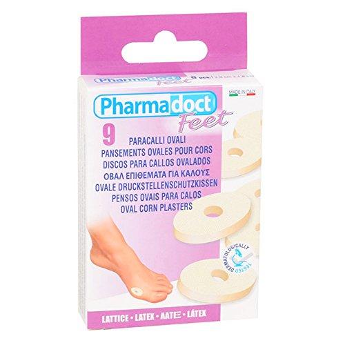 PHARMADOCT - Apósitos ovales para pies, durezas, callosidades y ojos de...
