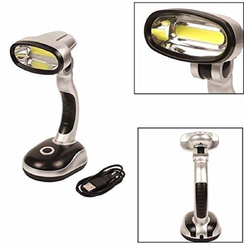 Velkro LED Adjustable USB Table Lamp Desk Lamp Camping Light 350 Lumens...