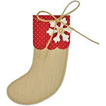Sizzix 661297 Fustella Bigz Calza di Natale di Sophie Guilar, ABS Plastic, Multicolore, 17.4x14x1.9 cm