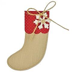 Idea Regalo - Sizzix 661297 Fustella Bigz Calza di Natale di Sophie Guilar, ABS Plastic, Multicolore, 17.4x14x1.9 cm
