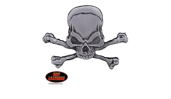 Original Artwork Hot Leathers Lead Free PIN Officially Licensed Originals EVIL PIRATE SKULL /& CROSSBONES