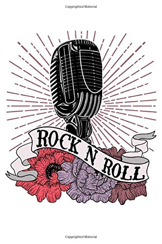 Rock N Roll: A Blank Lined Notebook for Rockabilly Babes and the Vintage Soul Flirty Rock