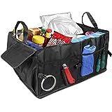 2en 1coche bolsa para botas, topist–Organizador Caja de almacenamiento Caja de equipaje para coche, SUV, camioneta, camión, compras Tidy Heavy Duty plegable plegable de almacenamiento