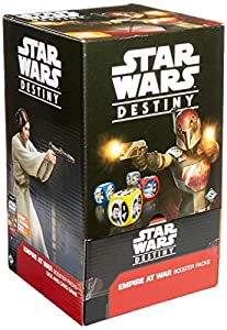Fantasy Flight Games ffgswd07Destino de Star Wars: Empire at War Booster Display,versión Inglesa
