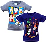 BOYS CHARACTER TSHIRT PACK OF 2