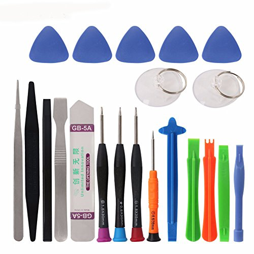 cohk 21 in 1 Mobile Phone Repair Tools Kit Spudger Pry Öffnung Werkzeug Schraubendreher Set für iPhone X 8 7 6S 6 Plus Hand Tools Set