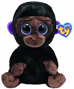 Ty 7136962Romeo Buddy Beanie Boos Gorilla Large, 24cm, Brown
