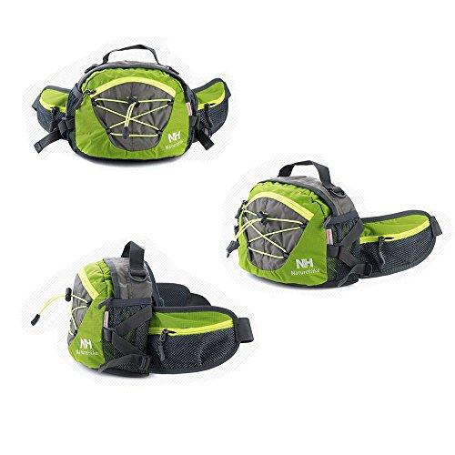 Tofern Multifunktion Gürteltasche Schultertasche Handtasche 8L grasgrün
