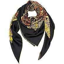 6b92475680fe Helan femmes Réel Soie Naturelle 140 X 140 cm foulards carrés