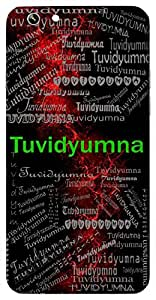 Tuvidyumna (Lord Indra) Name & Sign Printed All over customize & Personalized!! Protective back cover for your Smart Phone : Samsung Galaxy S5 / G900I