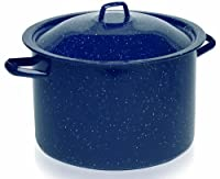 IMUSA, C20666-1063310, Enamel Stock Pot, Blue, 6-Quart