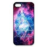 Harry Potter TPU Custodia Protettiva Case Cover per iPhone 55S Cover, Custodia Rigida per iPhone 5S, Soft-Silicone Custodia Cover per iPhone 55S