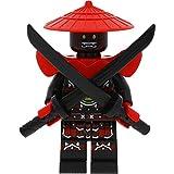 LEGO Ninjago Minifigur Swordsman aus Samurai X Cave Chaos incl. 2 GALAXYARMS Waffen