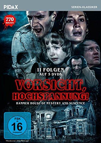 Vorsicht, Hochspannnung! (Hammer House of Mystery and Suspense) / 11 Folgen der Kult-Gruselserie (Pidax Serien-Klassiker) [5 DVDs]