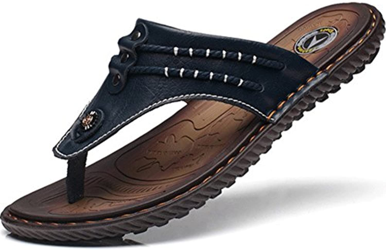 Herren Flip Flops Sandalen Sommer Strand Schuhe