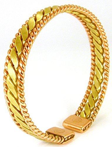Die Quelle: Armband Kupfer magnetisch mit den Magneten–Damen und Herren. Größe 17cm.