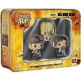 Funko - Pack 3 Figurines Walking Dead Pocket Pop 4cm - 0849803047993