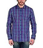 Enryca Men's Casual Shirt(ENMSH 0084BLUE...
