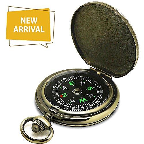 Dingsheng yuanhang Kompass Premium Portable Taschenuhr Flip-Open Kompass Camping Wandern Kompass Outdoor Navigation Tools , Grun, 6.54.61.6 preisvergleich