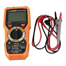 Alcoa Prime PM18 Digital Multimeter High Precision Current Voltage Intelligent Electric Digital Display Multimeter Orange Hot Sale