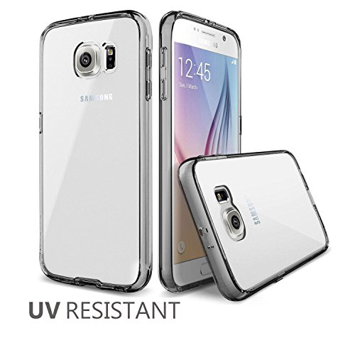 MTT® Shock Proof Case for Samsung Galaxy S6 (SMOKE BLACK)