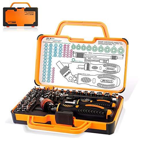 shalt Werkzeug Set Professionelle Magnetische Schraubendreher Präzision Ratsche & Bits Kit Aus Hochwertigem Stahl für Home Office Schuppen Garage Bike Car Repair ()