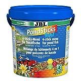 JBL 40147 Rundumernährung für alle Teichfische, PondSticks 4 in 1, 1er Pack (1 x 10.5 l)