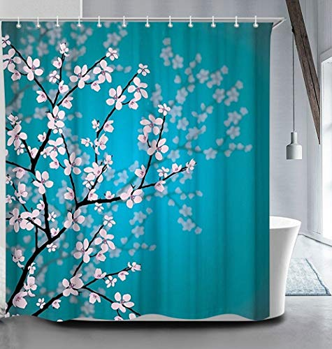 True Holiday Shower Curtain Fabric Polyester Waterproof Mildew Resistant