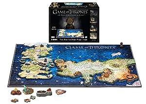 4D CITY SCAPE- RompecabezasPuzzles encajables y rompecabezas4D City SCAPEGame of Thrones Westeros and Essos, (1000)