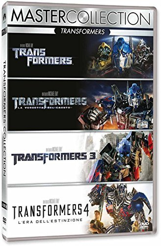 transformers quadrilogy (4 dvd) box set DVD Italian Import by mark wahlberg (Transformers Dvd Box Set)