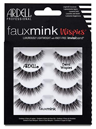 Ardell Wimpern (ARDELL Faux Mink Demi Wispies 4 Pack, 25 g)