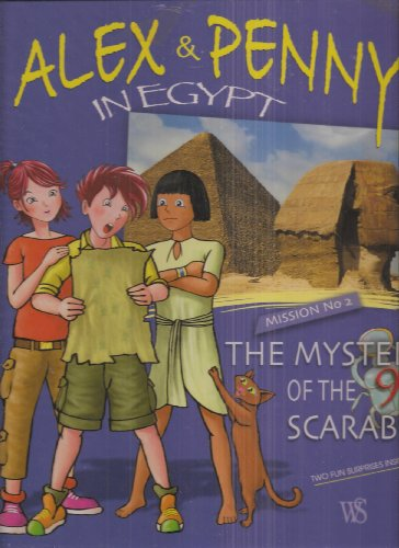 Alex and Penny in Egypt : the mystery of the 9 scarabs