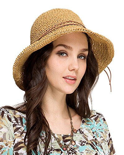 Urbancoco Damen Sommer Strand Sonne Hüte
