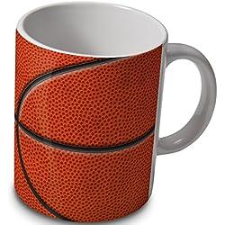 Taza, diseño de balón de baloncesto